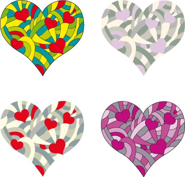 Valentinstag – Herzen im Mustergarten